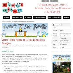 Vert le Jardin, réseau de jardins partagés en Bretagne