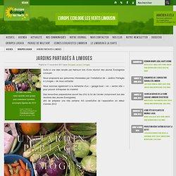 Jardins Partagés à Limoges