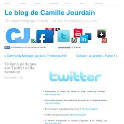 10 liens partagés sur Twitter cette semaine | Le Marketing sur le Web ... Social