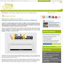 Partagez jusqu'à 50 liens dans un seul avec 1link4.me