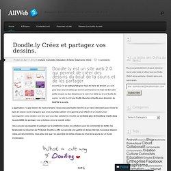Doodle.ly Créez et partagez vos dessins