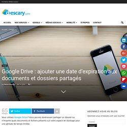 Google Drive: partagez vos dossiers avec une date d'expiration