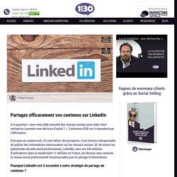 Partagez efficacement vos contenus sur LinkedIn