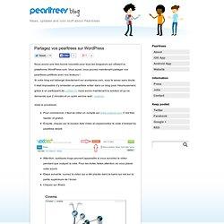 Wordpress Insérer PearlTrees dans blog