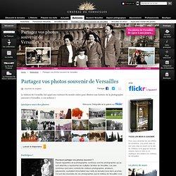 Partagez vos photos souvenir de Versailles
