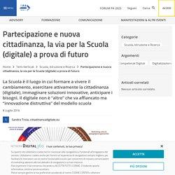 Partecipazione e nuova cittadinanza, la via per la Scuola (digitale) a prova di futuro - FPA