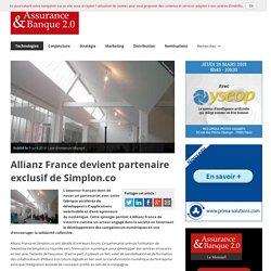 Allianz France devient partenaire exclusif de Simplon.co
