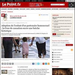 Adoption de l'enfant d'un partenaire homosexuel : la brèche hist