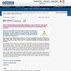 [Actu Partenaire] OLEDCOMM annonce une levée de 3 millions d'euros afin de renforcer sa croissance à l'international