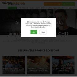 France Boissons, le partenaire des professionnels du marché hors domicile