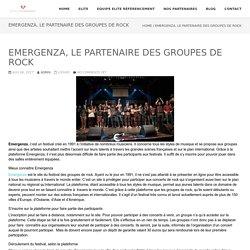 Emergenza, le partenaire des groupes de rock - ELITE REFERENCEMENT