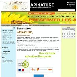 Partenaires « APINATURE