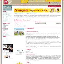 Sites partenaires : Citoyen Junior