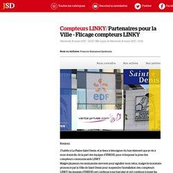 Partenaires pour la Ville - Flicage compteurs LINKY