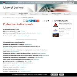 Partenaires institutionnels - Livre et Lecture