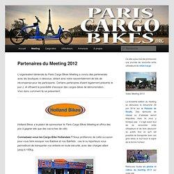 Partenaires du Meeting 2012