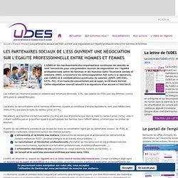Les partenaires sociaux de l'ESS ouvrent une négociation sur l'égalité professoinnelle entre hommes et femmes