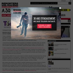 Reporters sans frontières et Tor serveurs, partenaires contre la surveillance et la censure en ligne