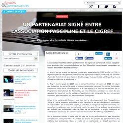 01/03 Un partenariat signé entre l'association Pasc@line et le Cigref