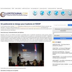 Un partenariat en design pour Icademie et l'EEGP