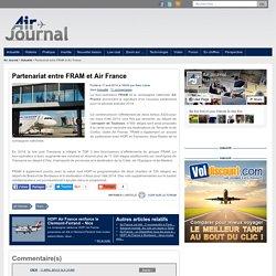 Partenariat entre FRAM et Air France