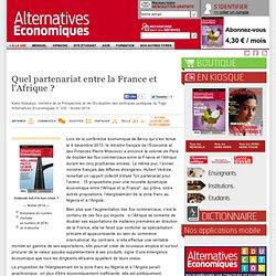 Quel partenariat entre la France et l'Afrique?