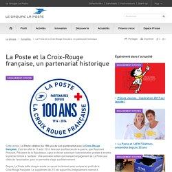 La Poste et la Croix-Rouge française, un partenariat historique