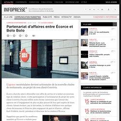 Partenariat d'affaires entre Écorce et Bolo Bolo
