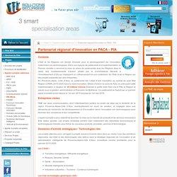 Partenariat régional d'innovation en PACA - PIA