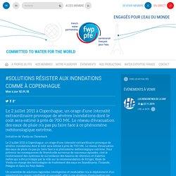 Partenariat Français pour l'Eau » #SOLUTIONS Résister aux inondations comme à Copenhague