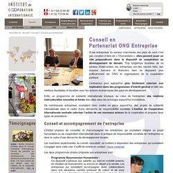 Conseil en Partenariat ONG Entreprise: humanitaire, coopération internationale