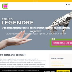Partenariat Cours Legendre - Crocos go digital