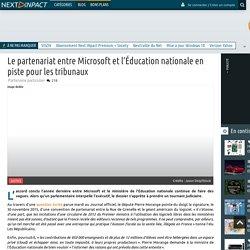 Le partenariat entre Microsoft et l'Éducation nationale en piste pour les tribunaux