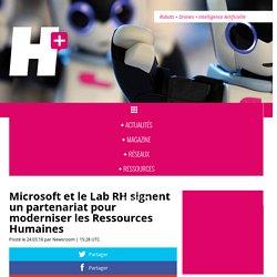 Microsoft et le Lab RH signent un partenariat pour moderniser les Ressources Humaines