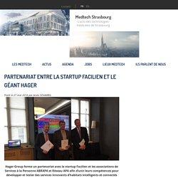 Partenariat entre la startup Facilien et le géant Hager - Medtech Strasbourg