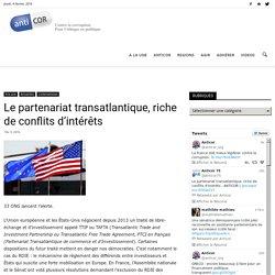Le partenariat transatlantique, riche de conflits d'intérêts