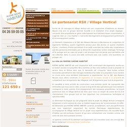 Le partenariat RSH / Village Vertical