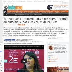 Partenariats et concertations pour réussir l'entrée du numérique dans les écoles de Poitiers
