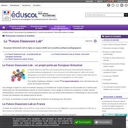 """Partenariats scolaires et mobilités - Le """"Future Classroom Lab"""""""