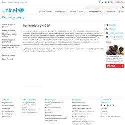 Partenariats UNICEF