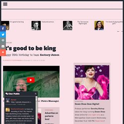 """It's good to be king « parterre box - """"The most essential blog in opera!"""" (New York Times) Where opera is king and you, the readers, are queens."""