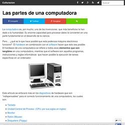 Las partes de una computadora - Culturación