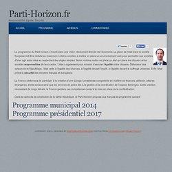 Parti Horizon.fr