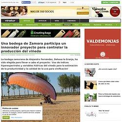 Una bodega de Zamora participa un innovador proyecto para controlar la producción del viñedo