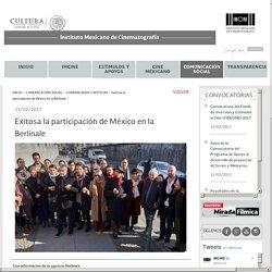 Exitosa la participación de México en la Berlinale - Instituto Mexicano de Cinematografía