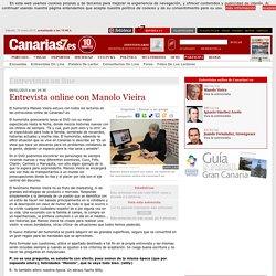 Participación: Entrevistas on-line: Manolo Vieira