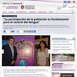 """""""La participación de la población es fundamental para el control del dengue"""""""