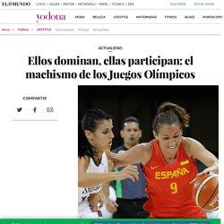 Ellos dominan, ellas participan: el machismo de los Juegos Olímpicos
