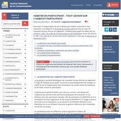 Habiter en participant : tout savoir sur l'habitat participatif - INC 30/10/16
