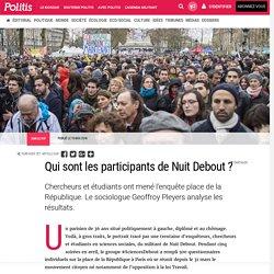 Qui sont les participants de Nuit Debout ? par Margaux Mazellier